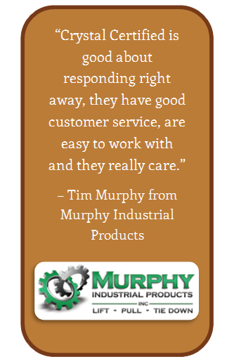 Murphy Industrial Products Testimonial